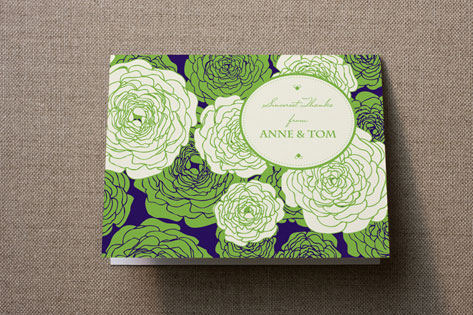 Sweetly Florals Thank You Cards