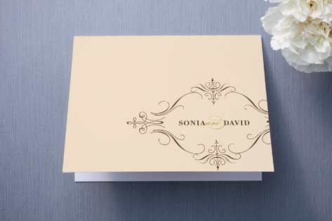 French Vintage Thank You Cards