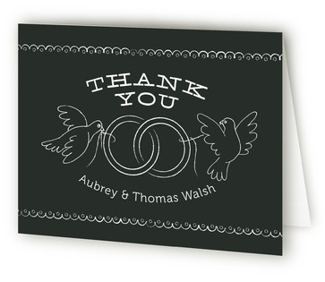 Bistro Board Thank You Cards