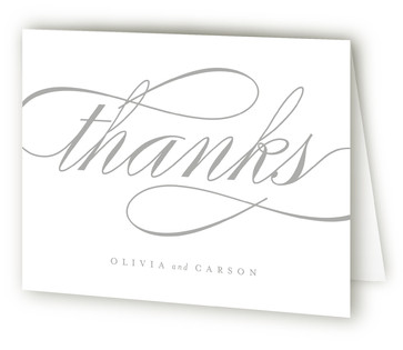 Mist Thank You Cards