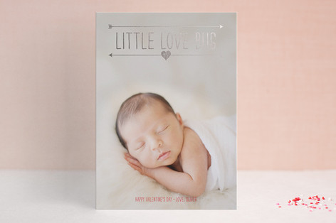 Lil Baby Love Foil-Pressed Valentine Cards
