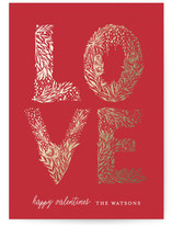 Floral LOVE Letters
