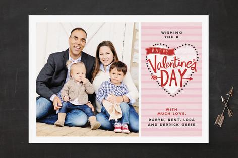 Striped Love Valentine's Day Cards