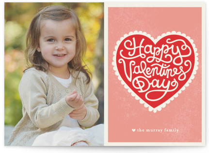 Handmade Heart Valentine's Day Cards