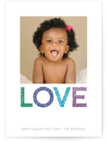 Sparkling Love Valentine's Day Cards