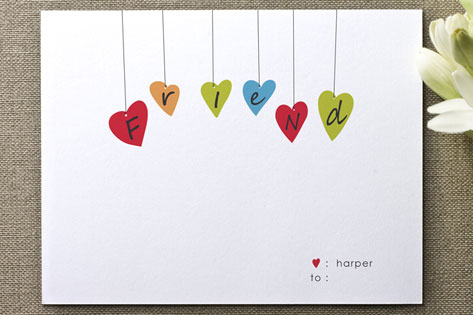 friend Valentine's Day Cards