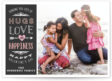 Hugs, Love and Happiness Valentine's Day Cards