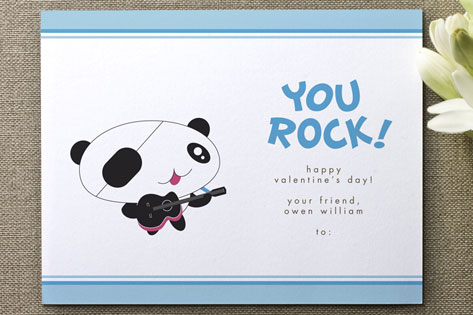 Rocker Valentine's Day Cards