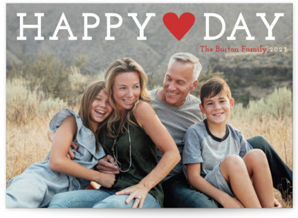 Happy Love Day Valentine's Day Postcards