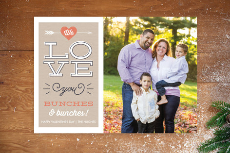 Bunches & Bunches Valentine's Day Postcards