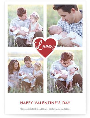 Gilded Love Valentine's Day Postcards