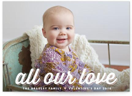 Sugar Script Valentine's Day Postcards
