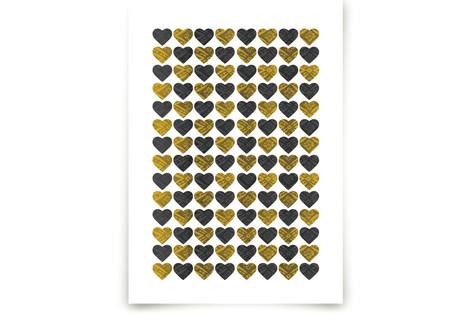 Lots of Hearts Art Prints