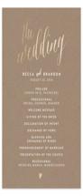Charming Love Foil-Pressed Wedding Programs