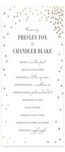 Thrilling Foil-Pressed Wedding Programs