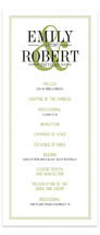 Wed in Type Unique Wedding Programs