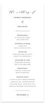 Elegant Monogram Wedding Programs