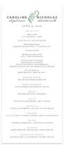 Delicate Ampersand Unique Wedding Programs