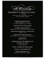 Soiree Unique Wedding Programs