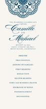 Ornamental Wedding Programs