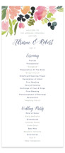 Watercolor Wreath Unique Wedding Programs