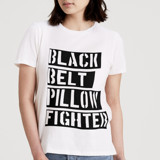 Black Belt Pillow Fight... by Deborah Velasquez