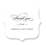 Eloquence Wedding Favor Stickers