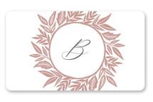 Monogram Wreath by Katharine Watson