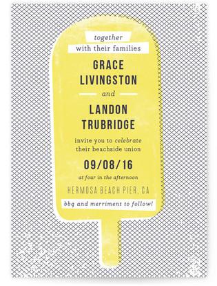 Summer Love Print-It-Yourself Wedding Invitations