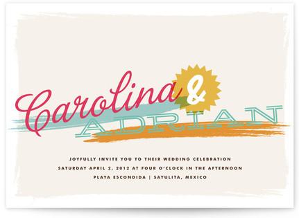 Tropisueno Print-It-Yourself Wedding Invitations