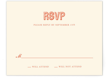Rustic Keys Print-It-Yourself Wedding RSVP...