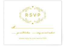French Meringue Print-It-Yourself RSVP Cards