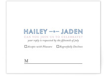 Just What You Need Print-It-Yourself RSVP Cards
