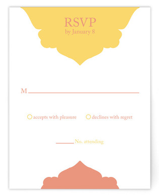 Julia Print-It-Yourself Wedding RSVP Cards