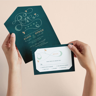 Love Grows All-in-One Wedding Invitations