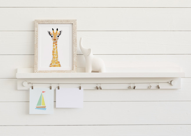 The Little Artist Shelf™ Art Display Shelves
