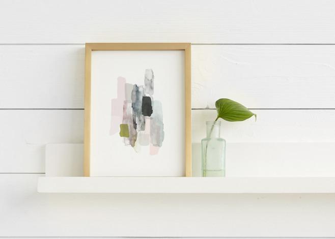 The Artful Shelf™ - Premium Wood Art Display Shelves