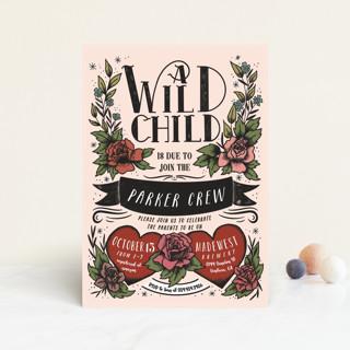 Wild Child Baby Shower Postcards