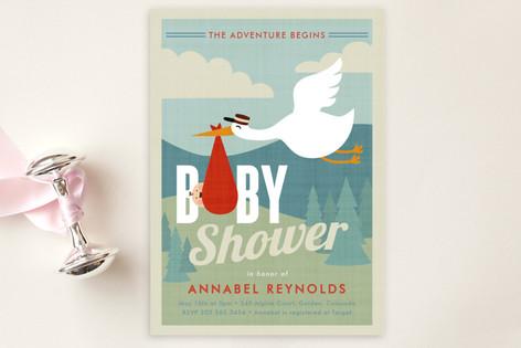 Adventurer Baby Shower Postcards
