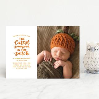 Cutest Pumpkin Baby Shower Postcards