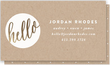 Hello New Friend by Bourne Paper Co.