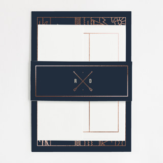 Nautical By Nature Foil-Pressed Belly Bands