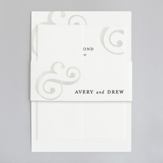 Classic Ampersand Gloss-Press® Belly Bands