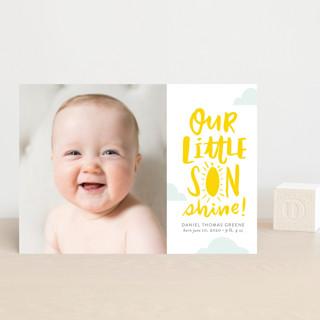 Little Sonshine Birth Announcement Petite Cards