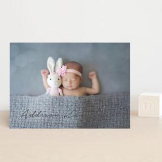 written announcement Birth Announcement Postcards