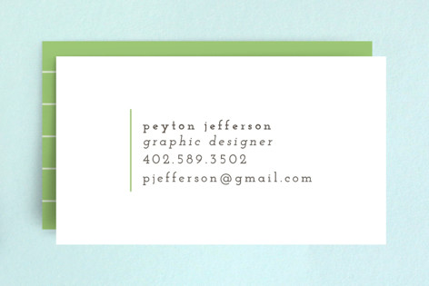 Clean & Simple Business Cards