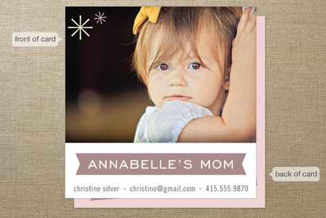 Pretty Playdate Business Cards