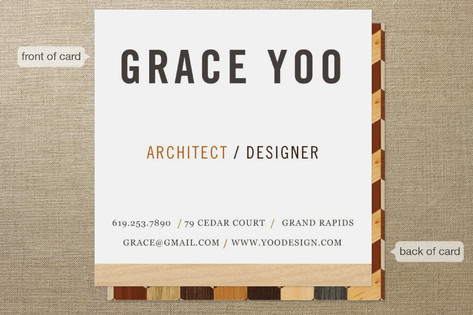 The Woods Business Cards