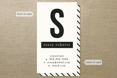 The Minimalist Business Cards