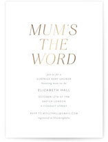 Mums the Word by Toast & Laurel